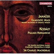 Produktbilde for Janácek/Kodály: Choral Works (UK-import) (CD)
