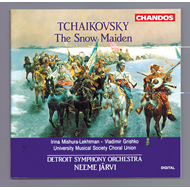 Produktbilde for Tchaikovsky: The Snow Maiden (CD)