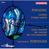 Produktbilde for Poulenc: Gloria; Stabat Mater (CD)