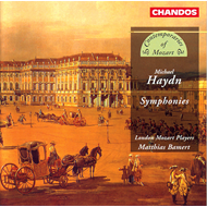 Produktbilde for Michael Haydn: Symphonies (CD)