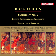 Produktbilde for Borodin: Symphony No. 2 (CD)