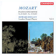 Produktbilde for Mozart: Piano Concertos (CD)
