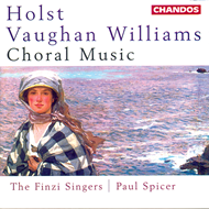 Produktbilde for Holst/Vaughan Williams: Choral Music (CD)