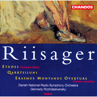 Produktbilde for Riisager: Etude;Qarrtsiluni etc (CD)