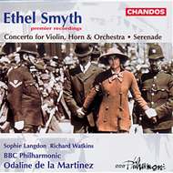Produktbilde for Smyth: Serenade in D; Concerto for Violin and Horn (CD)