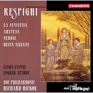 Produktbilde for Respighi: Cantatas (CD)