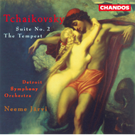 Produktbilde for Tchaikovsky: Suite No. 2; Tempest (CD)