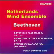 Produktbilde for Beethoven: Wind Ensemble Works (CD)