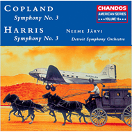 Produktbilde for Copland: Symphony No. 3, Harris: Symphony No. 3 (CD)