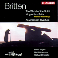 Produktbilde for Britten: The World of the Spirit etc (CD)