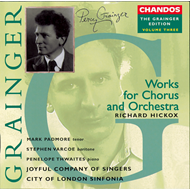 Produktbilde for Grainger Edition, Vol. 3 - Works for Chorus & Orchestra 1 (CD)