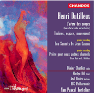 Produktbilde for Dutilleux: Violin Concerto etc (CD)