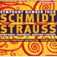 Produktbilde for Schmidt: Symphony No 4 etc (CD)