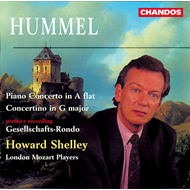 Produktbilde for Hummel: Works for Piano & Orchestra (CD)