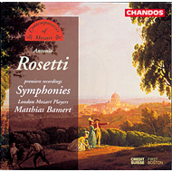 Produktbilde for Rosetti: Symphonies (CD)