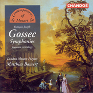 Produktbilde for Gossec: Symphonies (CD)
