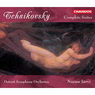 Produktbilde for Tchaikovsky: Suites (CD)