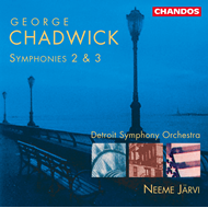 Produktbilde for Chadwick: Symphonies Nos 2 & 3 (CD)