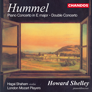 Produktbilde for Hummel: Pf Conc No 4; Double Concerto (CD)