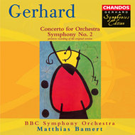 Produktbilde for Gerhard: Symphony No 2; Concerto for Orchestra (CD)