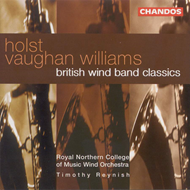 Produktbilde for Holst/Vaughan Williams: British Wind Band Classics (CD)