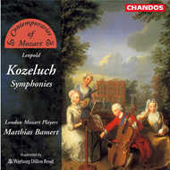 Produktbilde for Contemporaries of Mozart: Kozeluch: Symphonies (CD)