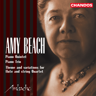 Produktbilde for Beach: Piano Quintet (CD)