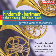 Produktbilde for German Wind Band Classics (CD)