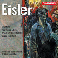 Produktbilde for Eisler: Die Mutter etc (CD)