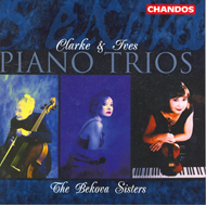 Produktbilde for Ives & Clarke: Piano Trios (CD)