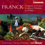 Produktbilde for Franck: Symphony in D; Symphonic Variations; Les Eolides (CD)