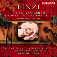 Produktbilde for Finzi: Violin Concerto etc. (CD)