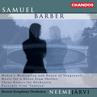 Produktbilde for Barber: Orchestral Works (CD)