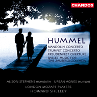 Produktbilde for Hummel: Orchestral Works (CD)