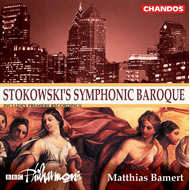 Produktbilde for Stokowski's Symphonic Baroque (CD)