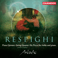 Produktbilde for Respighi: Chamber Works (CD)