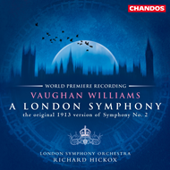Produktbilde for Vaughan Williams: A London Symphony (1913 version) (SACD)