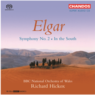 Produktbilde for Elgar: Symphony No 2; In the South [SACD] (CD)