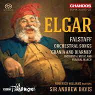 "Produktbilde for Elgar: Falstaff - Orchestral Songs And ""Grania And Diarmid"" (CD)"