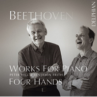 Produktbilde for Beethoven: Works For Piano Four Hands (CD)