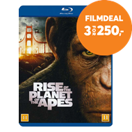 Produktbilde for Rise Of The Planet Of The Apes (BLU-RAY)