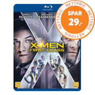 Produktbilde for X-Men: First Class (BLU-RAY)