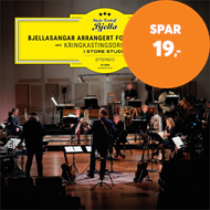 Produktbilde for Bjellasangar Arrangert For Messing Og Tre - Med Kringkastingsorkesteret I Store Studio (CD)