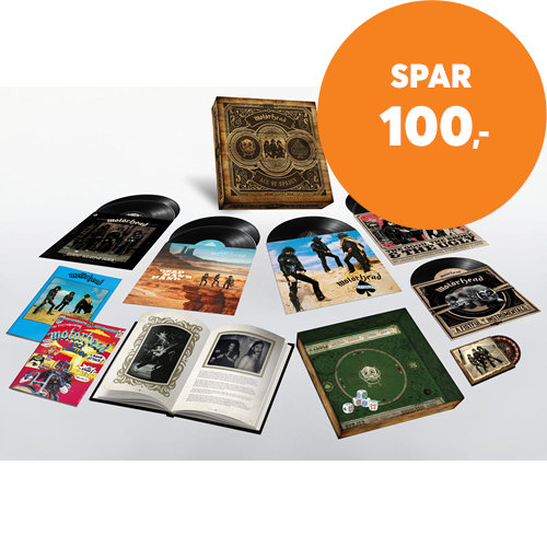 "Ace Of Spades - 40th Anniversary Edition - Deluxe Box Set (7LP + 10"" + DVD + Bok + Memorabilia) (BOKS)"