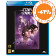 Produktbilde for Star Wars: Episode IV - A New Hope / Stjernekrigen (BLU-RAY)