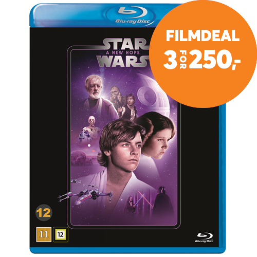 Star Wars: Episode IV - A New Hope / Stjernekrigen (BLU-RAY)