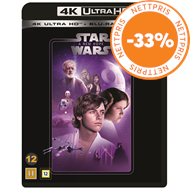 Produktbilde for Star Wars: Episode IV - A New Hope / Stjernekrigen (4K Ultra HD + Blu-ray)