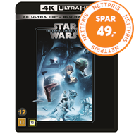 Produktbilde for Star Wars: Episode V - The Empire Strikes Back / Imperiet Slår Tilbake (4K Ultra HD + Blu-ray)