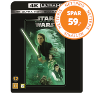 Produktbilde for Star Wars: Episode VI - Return Of The Jedi / Jedi-Ridderen Vender Tilbake (4K Ultra HD + Blu-ray)