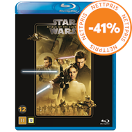 Produktbilde for Star Wars: Episode II - Attack Of The Clones / Klonene Angriper (BLU-RAY)